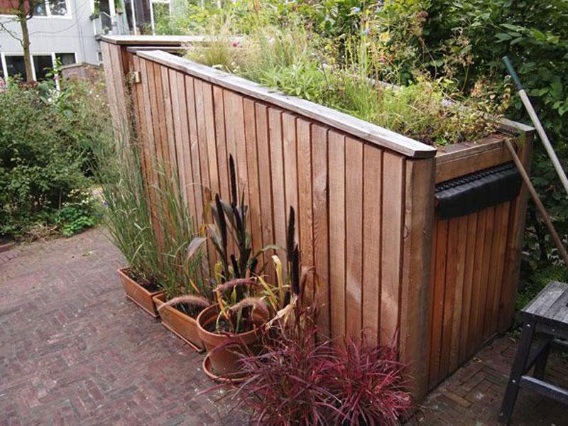 Berging tuin gallery of ontwerp voor een berging in de tuin with
