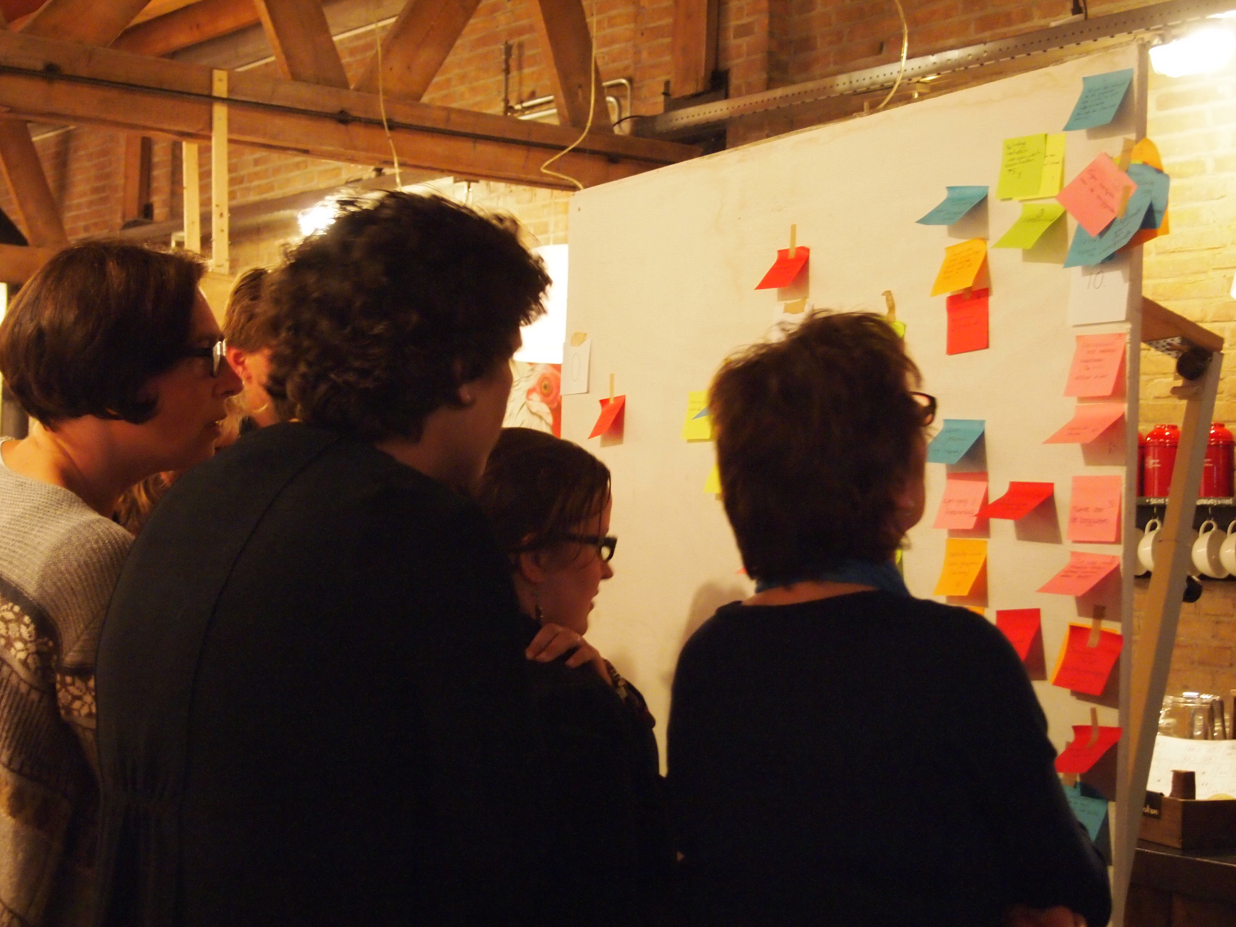 workshop de werknemers van de Buytenhof